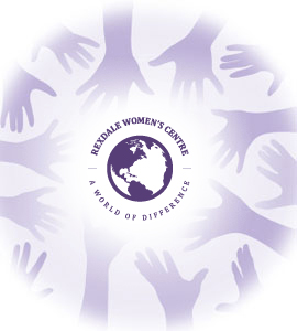 image of hands around logo
