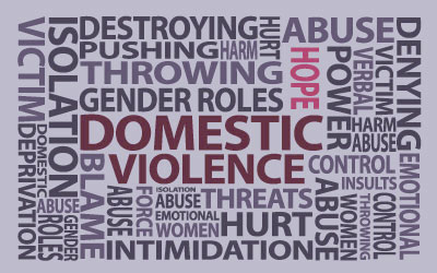 poster on domestic violence