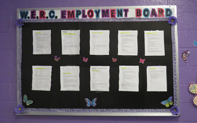 Employment Board at the WERC